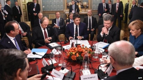 Far from peace between Ukraine and Russia: Europe struggles to avoid conflict