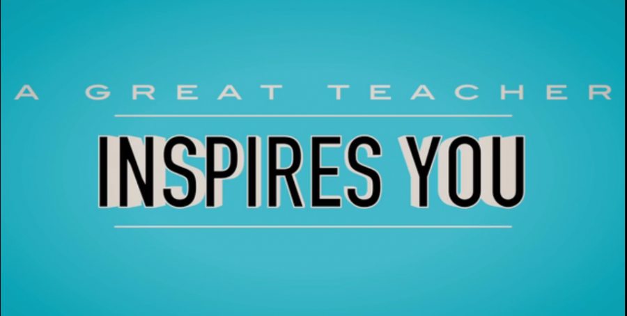 Students thank teachers for inspiration