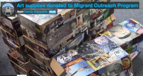 Art supplies donated to Migrant Outreach Program