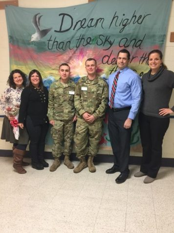 Solider and Class of 2016 HHS graduate comes home for the holidays