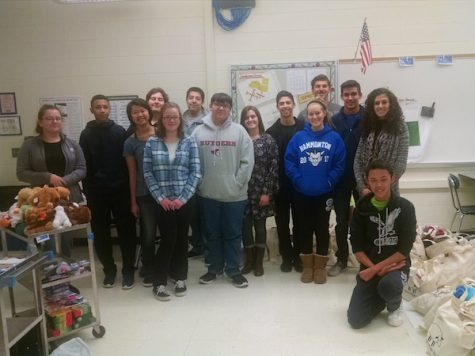 Interact collects 74 bags for Project Night Night