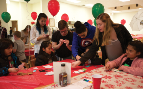 Helping for the Holidays: Key Club supports local Kiwanis children's party