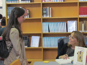 Author Laura Schroff Visits School and Inspires Service