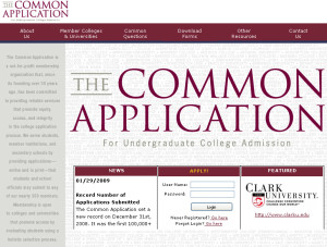 Crunch Time: The College Application Process