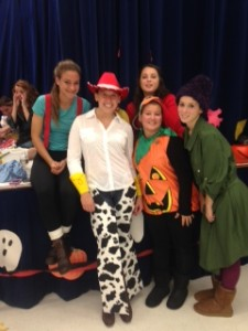 NHS Play Teaches Safe Trick-or-Treating