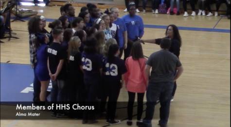 Chorus Performance of Alma Mater: 16-17 Fall Pep Rally