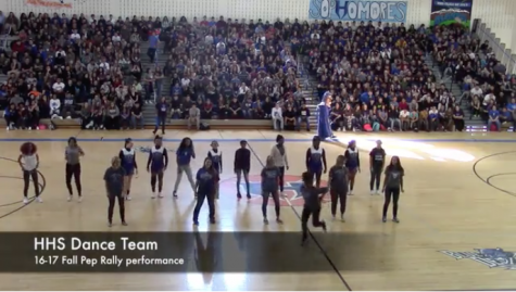 HHS Dance Team Performance: 16-17 Fall Pep Rally