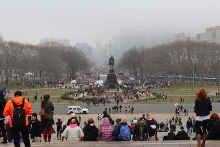 The Women's March in Philadelphia: A Narrative