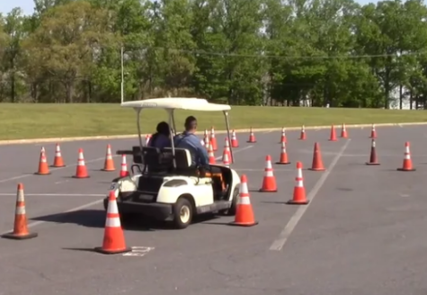 Behind the wheel: prom assembly warns of dangers, teaches safety
