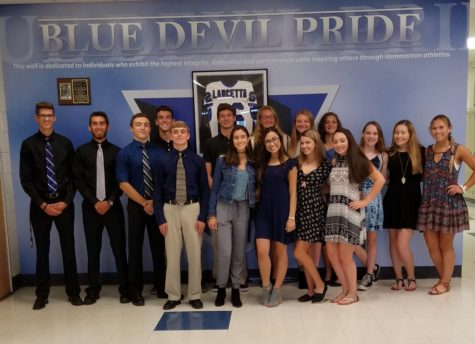 Fall athletes attend sportsmanship lunch