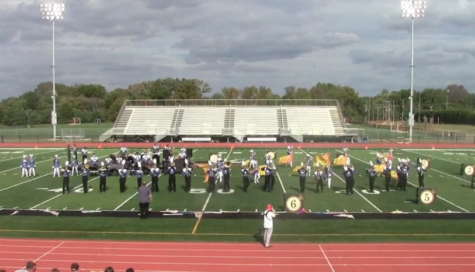 Marching band finds rhythm with new show