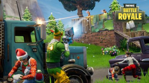 Players fight for survival in Fortnite