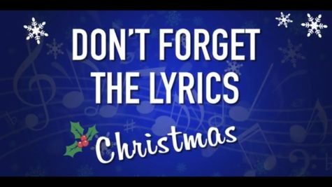 Don't forget the lyrics: Holiday edition
