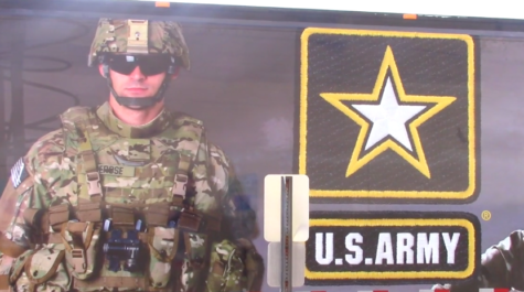 Army trailer features simulators, virtual reality for students