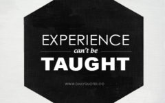 Words of Wisdom: Lessons from Experience