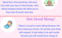 Infographic: Tips to Succeed on Final Exams
