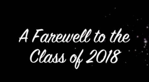A Farewell to the Class of 2018