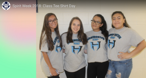 Spirit Week 2018: Class Tshirt Day