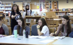 Students learn conflict resolution in peer mediation