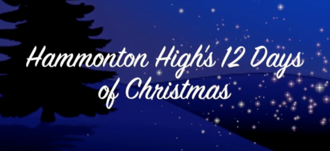 Hammonton High's 12 Days of Christmas