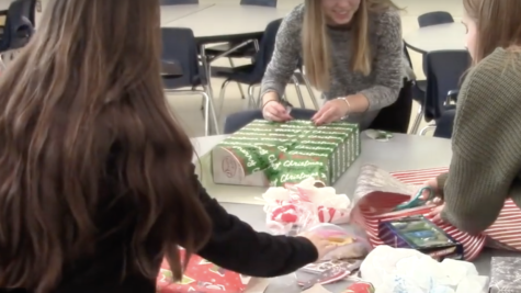 Student Council spreads cheer with giving project