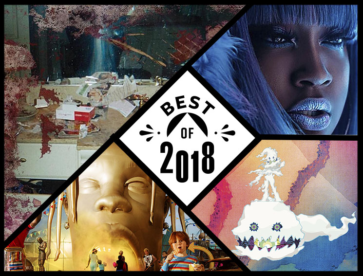 The Top 5 Best Albums of 2018