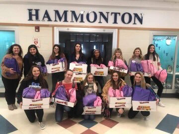 Club donates empowerment bags to women's shelter