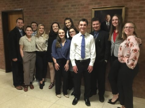 Mock Trial competes at County competition, faces elimination