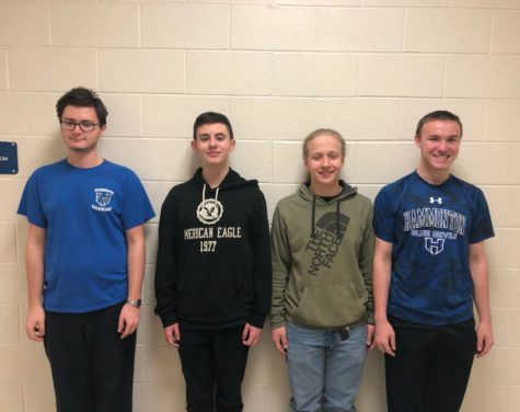 Students named to All South Jersey Senior High Band and Olympic Conference Honors Band