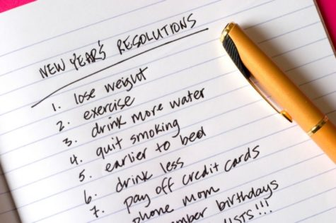 Keep up with New Year's Resolutions