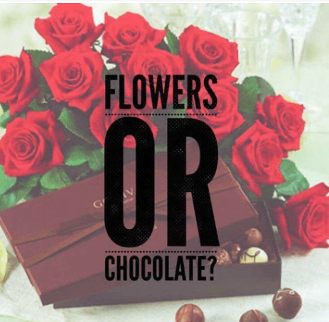 Valentine's Day: Flowers or Chocolate?