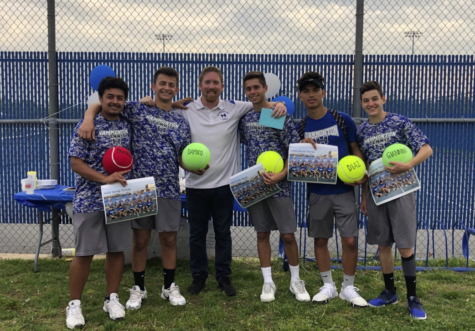 Boys tennis reflects on challenges, success at end of season