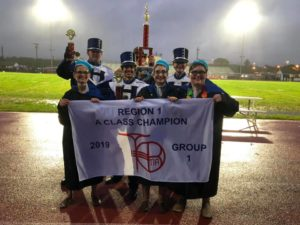 Marching Band wins Region 1 – Group 1A Class Championship