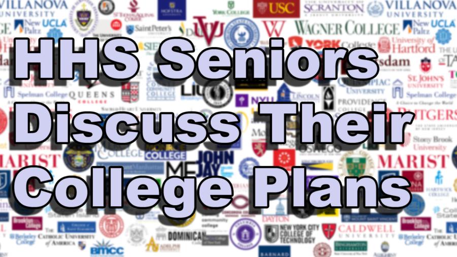Seniors+discuss+college+plans