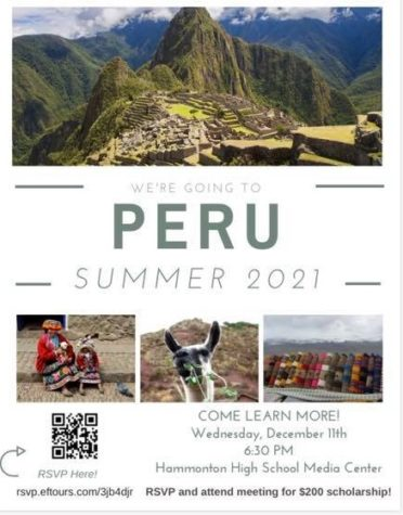 Interest meeting scheduled for Peru 2021 trip