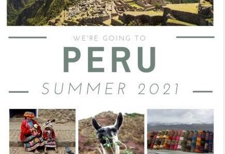 Interest meeting scheduled for Peru 2021 trip