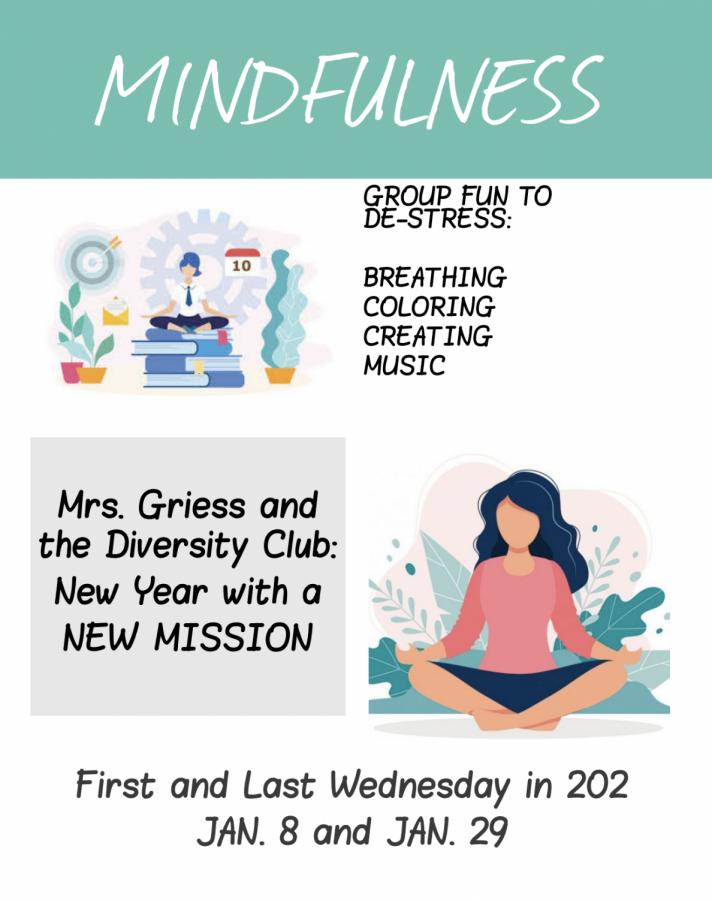 Diversity+Club+will+meet+Jan.+8+to+focus+on+mindfulness