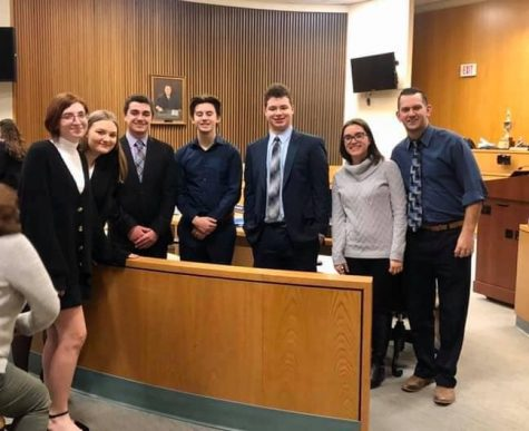 Mock Trial advances to Round 2 competition