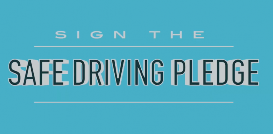 Safe+Driving+Club+encourages+students+to+sign+pledge