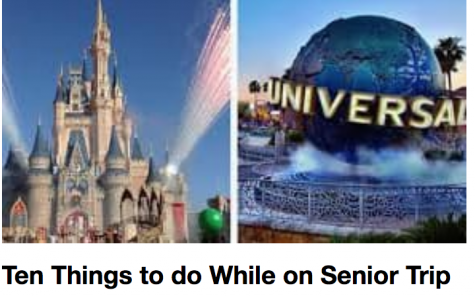 Ten Things to do While on Senior Trip