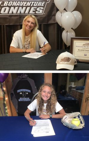 Stansbury and Edwards commit to college athletic programs