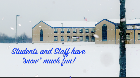 """Students and staff have """"snow"""" much fun!"""
