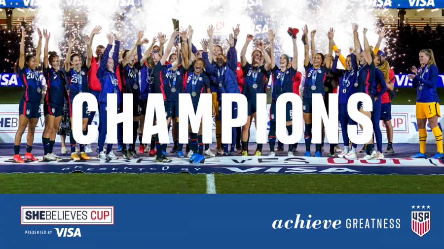 US Women's National Team SheBelievesCup Recap