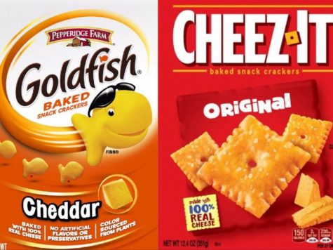 Debate: Goldfish vs. Cheez-Its