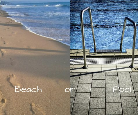 Which is better: beach or pool?