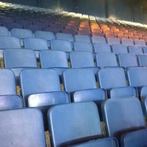 Basketball players reflect on empty stands