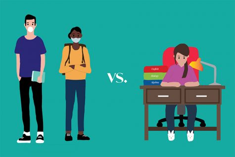 Online or In-Person? Students weigh in